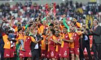 Türkiye Kupası'nın sahibi Galatasaray oldu