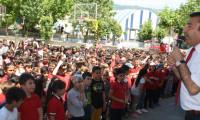 Tokat'ta 1000 öğrenci zorbalığa karşı rap yaptı