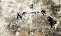 İşte 4 PKK'lı teröristin teslim olma anı