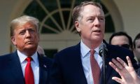 Lighthizer: Trump yönetimi Çin mallarına uygulanan vergiyi artıracak