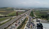 Bayram trafiğine havadan müdahale
