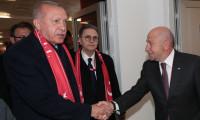 Cumhurbaşkanı Erdoğan TFF Başkanı Özdemir ile görüştü
