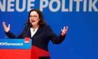 SPD lideri Nahles'in istifası Alman basınında manşetlerde