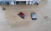 Düzce, Akçakoca'da sel çilesi