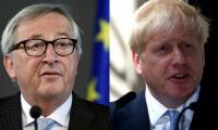 Boris Johnson ile Juncker arasında Brexit restleşmesi