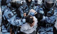 AB'den Rusya'nın protestoculara sert müdahalesine tepki