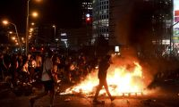 İsrail'de polis cinayeti protestosu