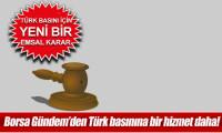 Anayasa Mahkemesi Borsagundem.com'u bir kez daha haklı buldu