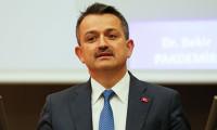 Pakdemirli: Türkiye 4 ürünün üretim ve ihracatında dünyada lider