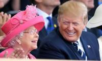 Kraliçe Trump'tan şikayetçi! Çimleri zarar görmüş