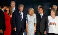 G7 aile fotosu çekiminde öpücük yağmuru
