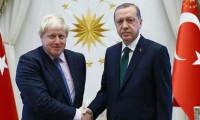 Erdoğan, Boris Johnson ile görüştü