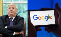 Trump: Beyaz Saray Google'ı yakından takip ediyor