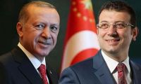 İmamoğlu'nun sandalyesi kırıldı, Erdoğan 'Bak bu yaptığın israftır' dedi