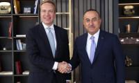 Çavuşoğlu, Dünya Ekonomik Forumu Başkanı ile görüştü