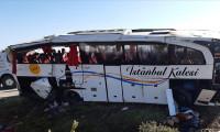 Afyonkarahisar'da yolcu otobüsü devrildi! Ölü ve yaralılar var