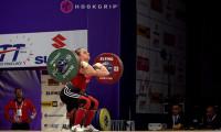Milli halterci Şaziye Erdoğan'dan altın madalya!