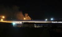 Başkentte traktör fabrikasında yangın
