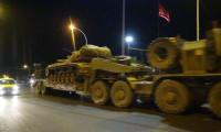 Mardin'in Suriye sınırına askeri sevkiyat