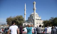 Avcılar'da caminin minaresi yıkıldı