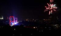 Nefes kesen kareler! İstanbul'da yeni yıl coşkusu