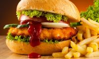 Trump beslenmeye el attı hamburger açılımı yaptı