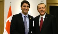 Erdoğan ve Kanada Başbakanı Trudeau görüştü