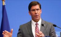 ABD Savunma Bakanı Esper: Irak'ta bir süre daha bulunmamız gerekiyor