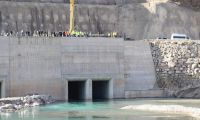 Avrupa'nın en büyük barajında su tutulmaya başlandı