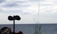 Kemer'de denizde hortum