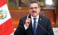 Peru'nun geçici devlet başkanı istifa etti