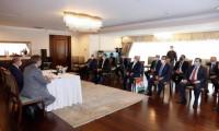TOBB heyeti KKTC Cumhurbaşkanı Tatar'ı ziyaret etti