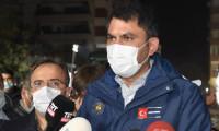 Bakan Kurum, İzmir'de incelemelerde bulundu