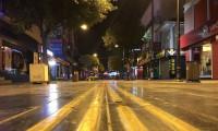 Türkiye genelinde hafta sonu uygulanan sokağa çıkma yasağı başladı