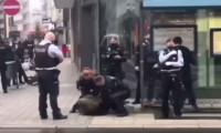 Alman polisi, başörtülü kadını maske takmadığı gerekçesiyle yere yatırıp kelepçeledi