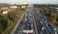 56 saatlik kısıtlama öncesinde İstanbul'da trafik yoğunluğu oluştu