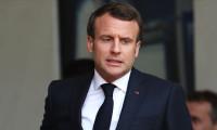 Macron'un misafiri tepki yarattı