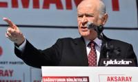 Bahçeli'den KKTC Cumhurbaşkanı Akıncı'ya istifa çağrısı