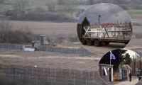 Yunanistan sınır hattına 'siper' kazıyor
