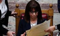 Yunanistan'ın ilk kadın Cumhurbaşkanı Katerina Sakelaropulu göreve başladı