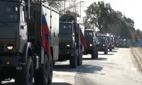 İtalya'daki Rus askeri konvoyunun görüntüleri olay oldu