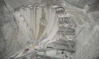 Türkiye'nin en yüksek baraj inşaatında 193 metreye ulaşıldı
