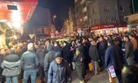 Yasağın ardından vatandaşlar sokağa akın etti