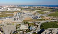Atatürk Havalimanı'ndaki hastanenin zemin betonu dökülmeye başlandı