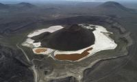 'Dünyanın nazar boncuğu' Meke Gölü kurudu
