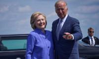 Hillary Clinton, Biden'a desteğini açıkladı