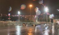 İstanbul'da rüzgar ve yağmur gece boyu etkili oldu