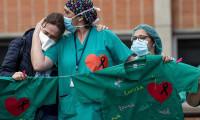 Enfekte olan sağlık çalışanı sayısı 90 bini geçti