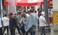 İstanbullular yağmura aldırmadı