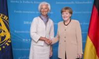 Merkel ve Lagarde, AB liderlerine teşvik için anlaşın dedi
